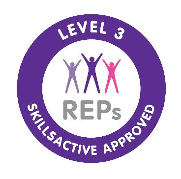 Level 3 Pilates REPs logo